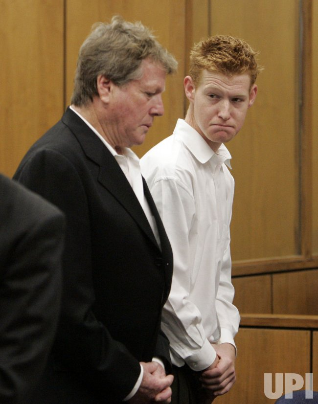 Ryan O'Neal and son Redmond arraigned in Malibu, California