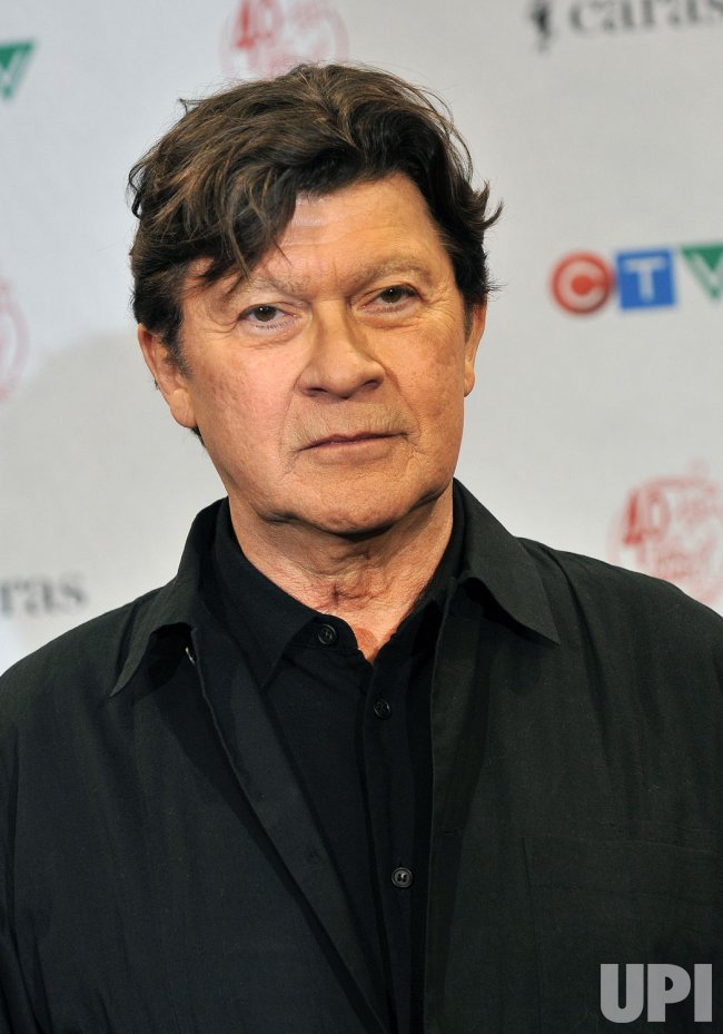 Robbie Robertson attends the 2011 Juno Awards in Toronto, Canada