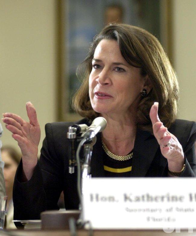 Kartherine Harris Testifies on Election Reform