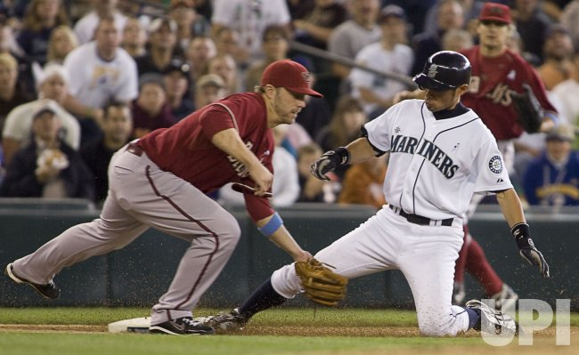 Diamondbacks vs. Mariners in Seattle.
