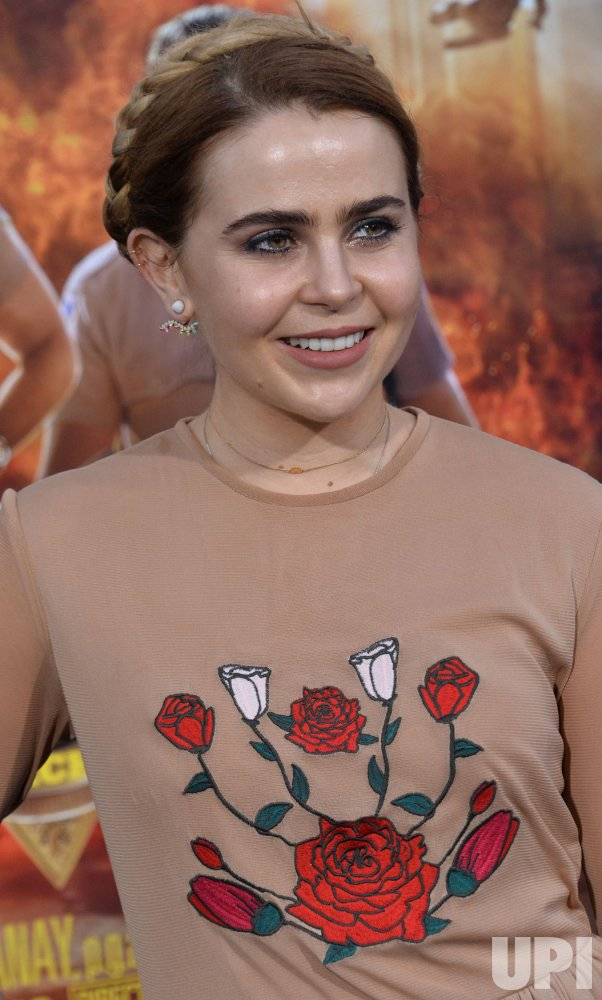 "Mae Whitman attends the ""CHIPS"" premiere in Los Angeles"