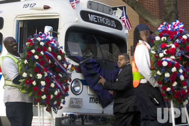 MEMORIAL SERVICE FOR ROSA PARKS IN WASHINGTON.
