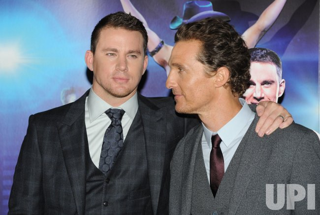 "Channing Tatum and Matthew McConaughey attend the European premiere of ""Magic Mike"" in London"