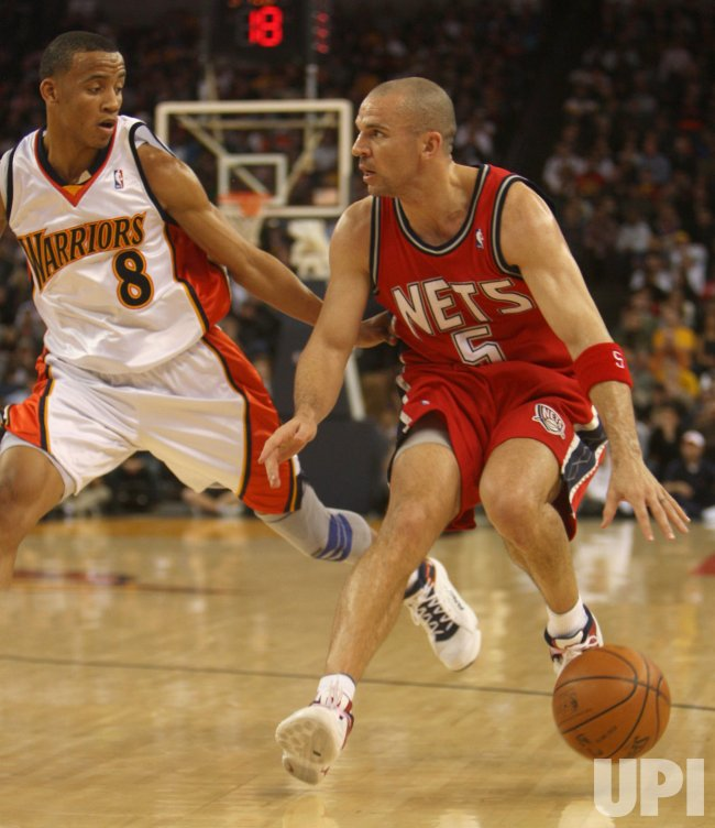 Golden State Warriors vs New Jersey Nets