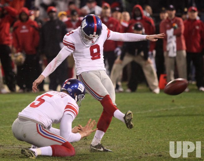 NFC Championship San Francisco 49ers vs New York Giants in San Francisco
