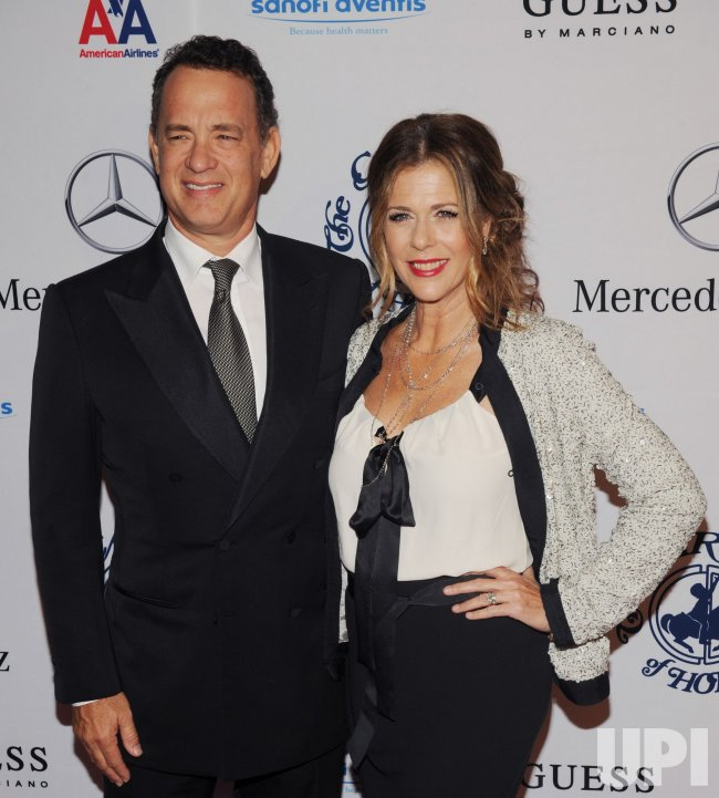 Rita Wilson and Tom Hanks attend the 32nd anniversary Carousel of Hope Ball in Beverly Hills