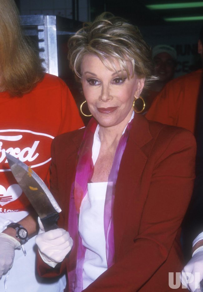 Joan Rivers, Matthew Modine & Blaine Trump at God's Love We Deliver