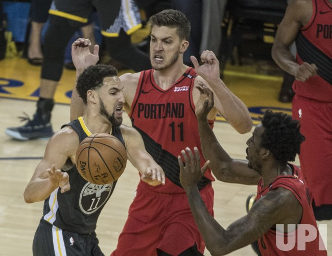 trail blazers vs warriors - photo #25