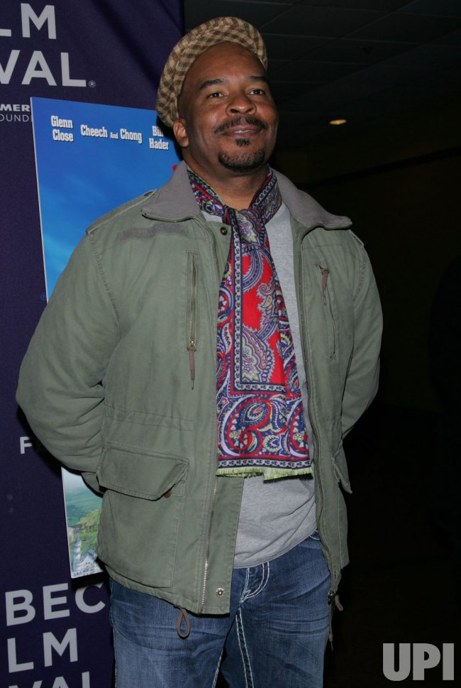 "David Alan Grier arrives for the Tribeca Film Festival Premiere of ""Hoodwinked Too"" in New York"