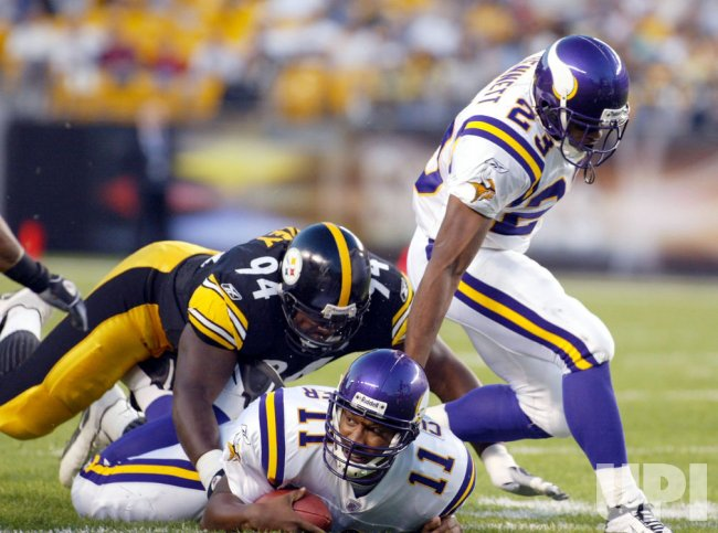 Steelers vs. Vikings Pre-Season