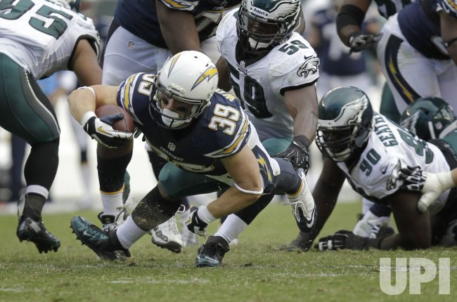 San Diego Chargers at Philadelphia Eagles NFL Football