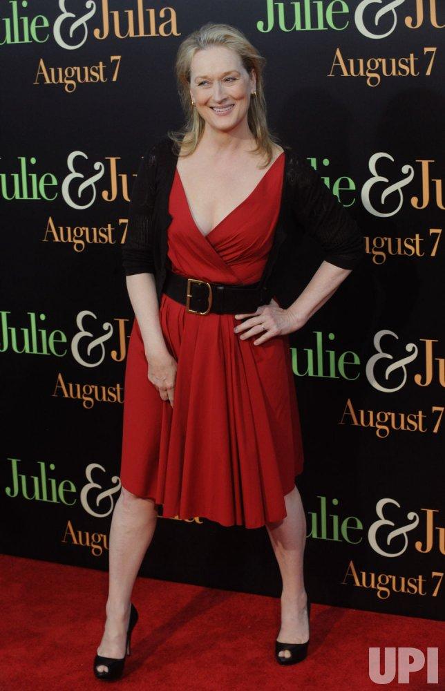 """""""Julie & Julia"""" premiere held in Los Angeles"""