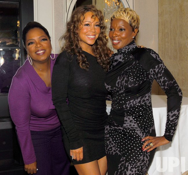 Oprah Winfrey, Mariah Carey and Mary J. Blige attend Toronto International Film Festival