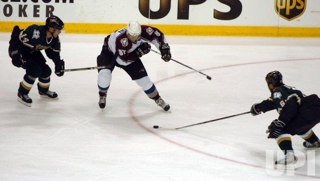 NHL PLAYOFFS-DALLAS STARS VS COLORADO AVALANCHE