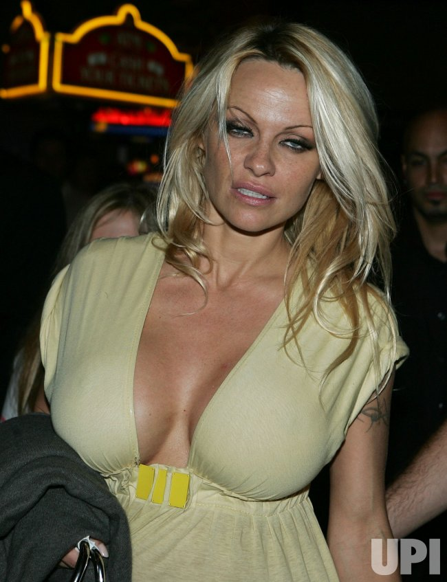 Pamela Anderson arrives in Florida