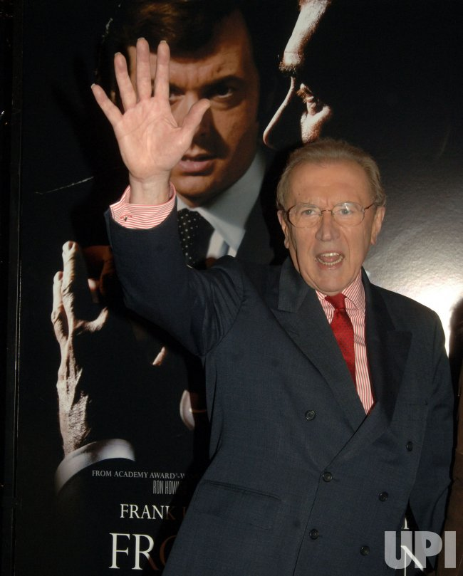 Frost/Nixon film premiere in New York City