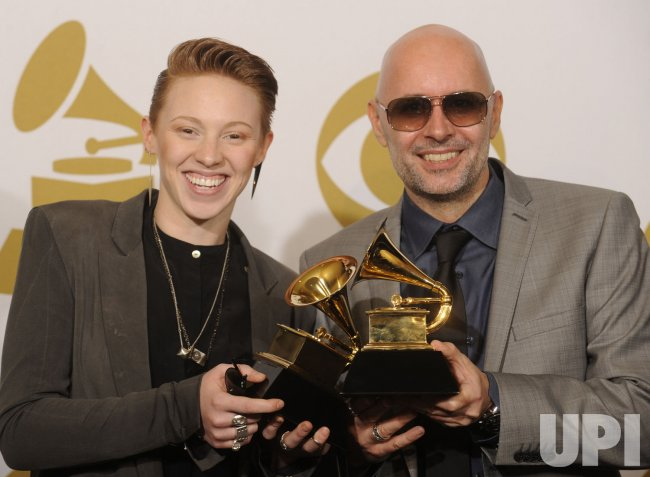 La Roux wins Grammy at the 53rd Grammy Awards in Los Angeles