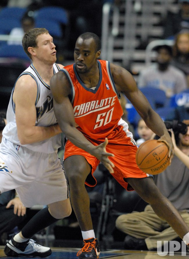 Charlotte Bobcats vs Washington Wizards in Washington