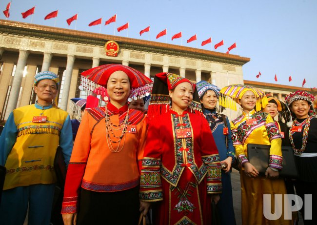 Annual National People's Congress in Beijing
