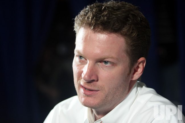 Dale Earnhardt Jr. on NASCAR media tour