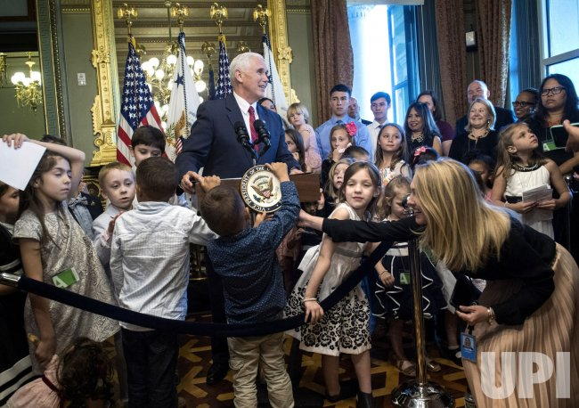 VP Mike Pence delivers remarks to military families in Washington
