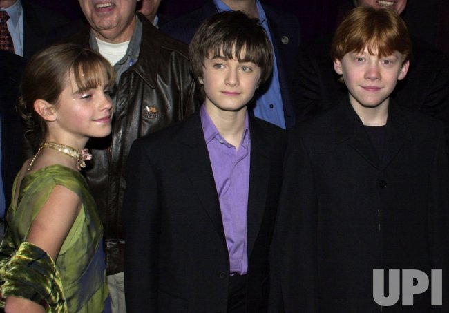 HARRY POTTER AND THE SORCERER'S STONE AMERICAN FILM PREMIERE