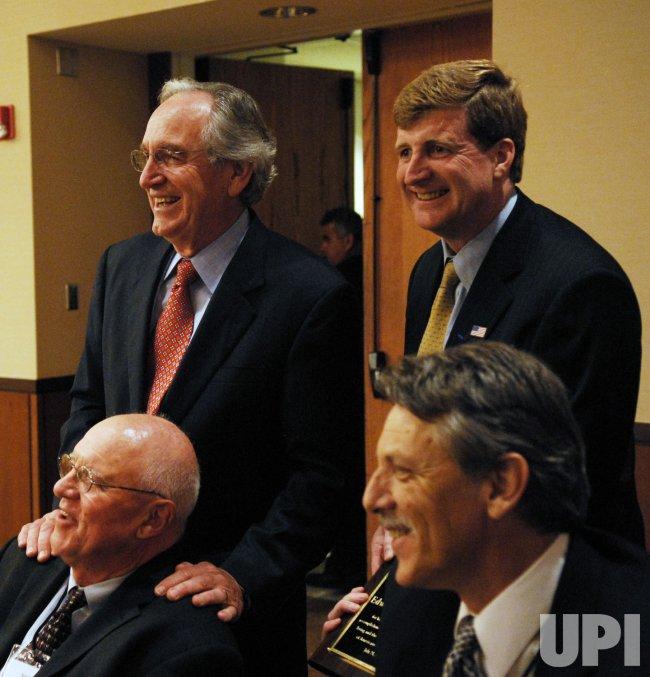 Frank Harkin Memorial Award given to Sen. Ted Kennedy in Washington