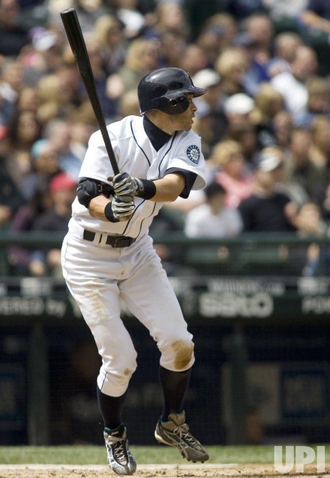 Seattle Mariners' Ichiro Suzuki in Seattle