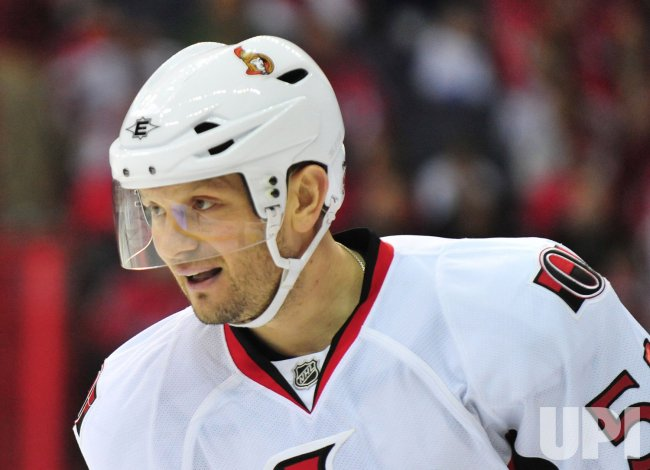 Senators' Sergei Gonchar in Washington