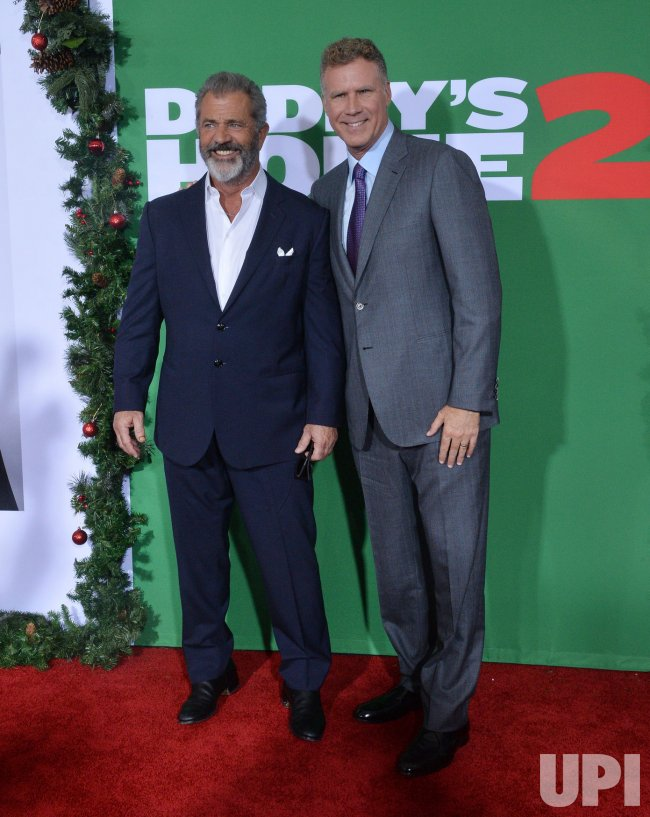 "Mel Gibson and Will Ferrell attend the ""Daddy's Home 2"" premiere in Los Angeles"
