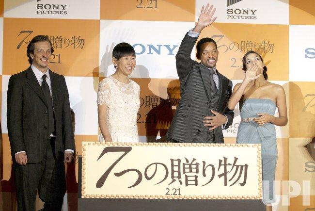 """""""Seven Pounds""""@Japan premiere"""
