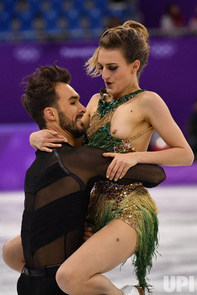 Ice Dancing Short Program at the Pyeongchang 2018 Winter Olympics