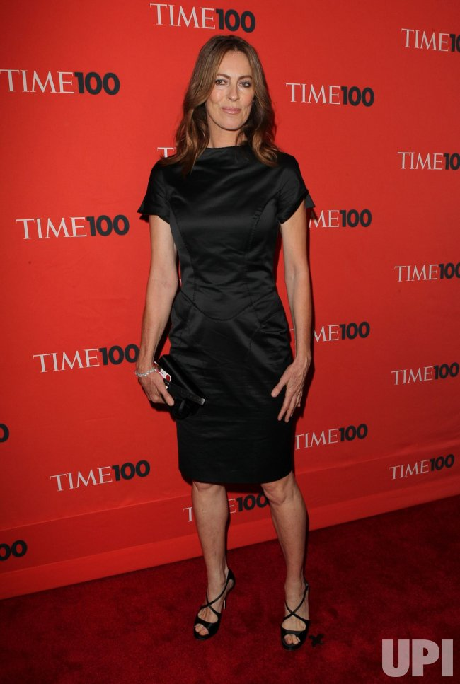 Kathryn Bigelow arrives at Time Magazines 100 Most Influential People Gala at the Time Warner Center in New York
