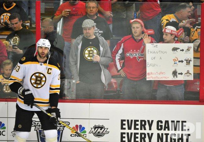 Boston Bruins Zdeno Chara in Washington