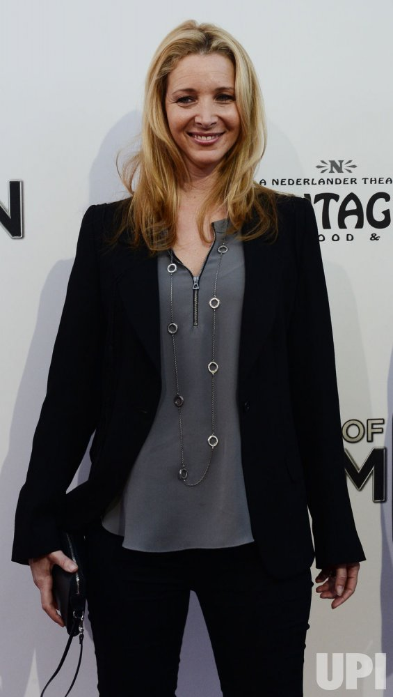 """Lisa Kudrow attends """"The Book of Mormon"""" premiere in Los Angeles"""