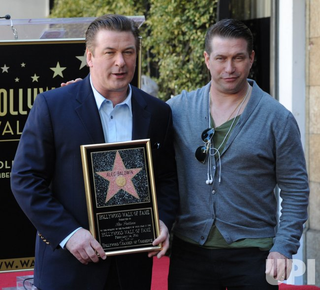 Alec Baldwin receives star on the Hollywood Walk of Fame in Los Angeles