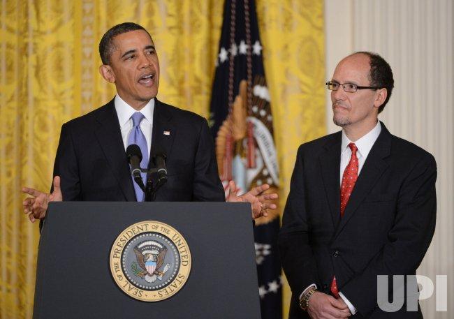 Obama Nominates Thomas Perez as Labor Secretary