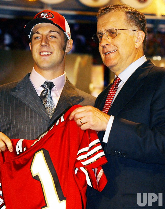 ALEX SMITH, QB, UTAH #1 PICK AT THE 2005 NFL DRAFT