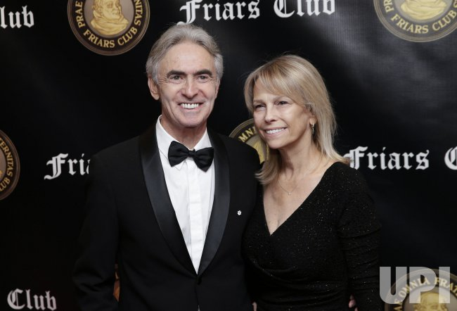 David Steinberg at Friar's Club red carpet in New York