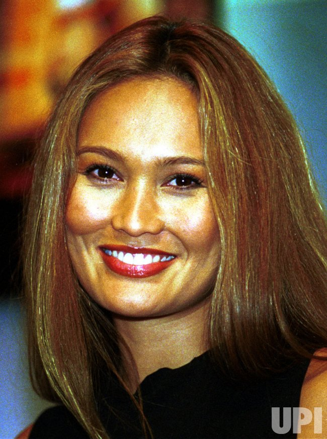 Tia Carrere appears at the National Association of Television Producers & Executives convention