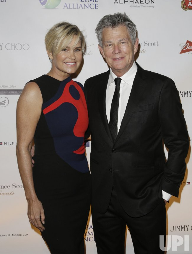 Yolanda Foster arrives at the Global Lyme Gala