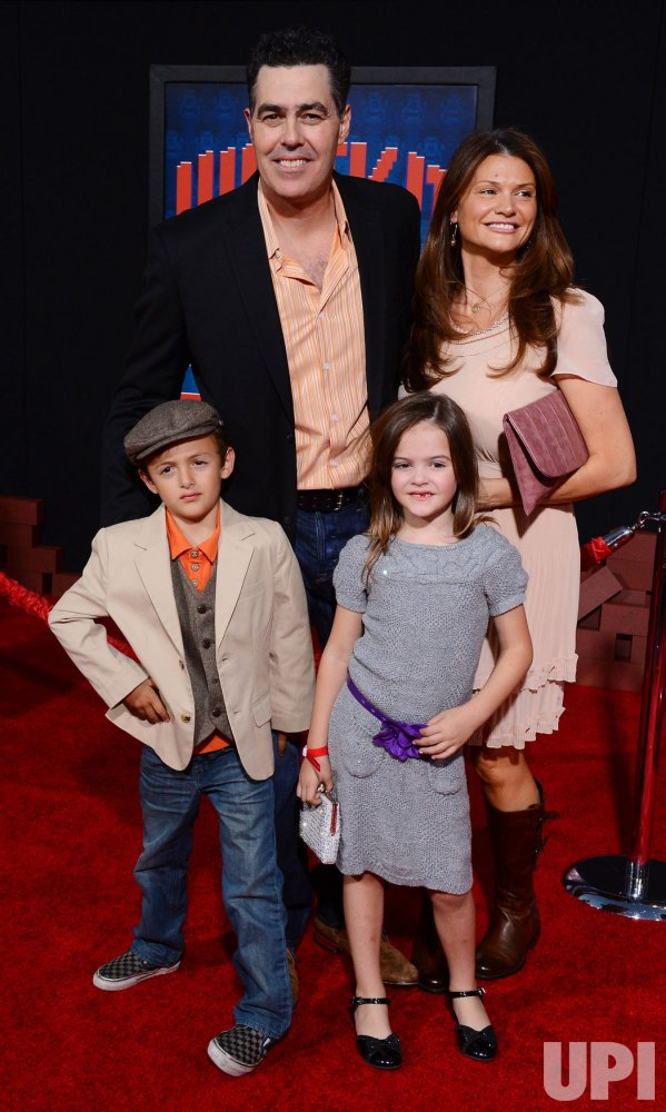 """Adam Carolla andfamily attend the """"Wreck-It Ralph"""" premiere in Los Angeles"""