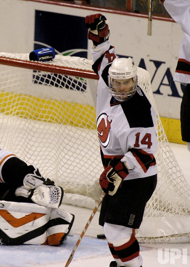 NHL PLAYOFFS - NEW JERSEY DEVILS VS. PHILADELPHIA FLYERS