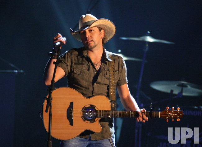 Jason Aldean performs at the 43rd Annual CMA Awards in Nashville