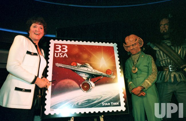 Star Trek stamp