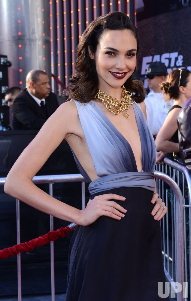 """Gal Gadot attends the """"Fast & Furious 6"""" premiere in Llos Angeles"""