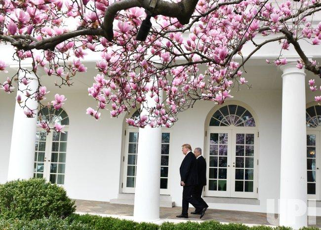 President Trump Meets with Israeli President Netanyahu