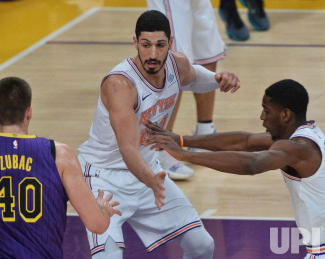 NBA player Enes Kanter fears being killed by Turkish spies