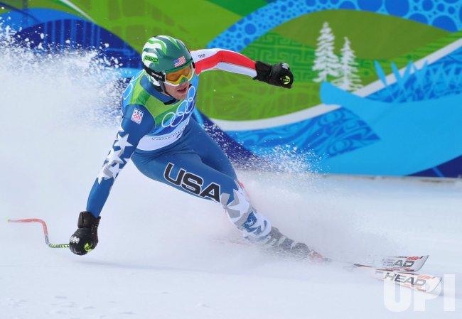 USA's Bode Miller wins bronze in the Men's Downhill in Whistler