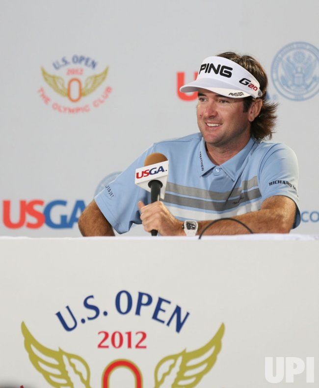 Bubba Watson has presser at US Open in San Francisco